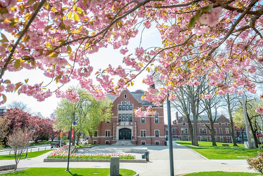 Clark-University-Atwood-Hall-spring