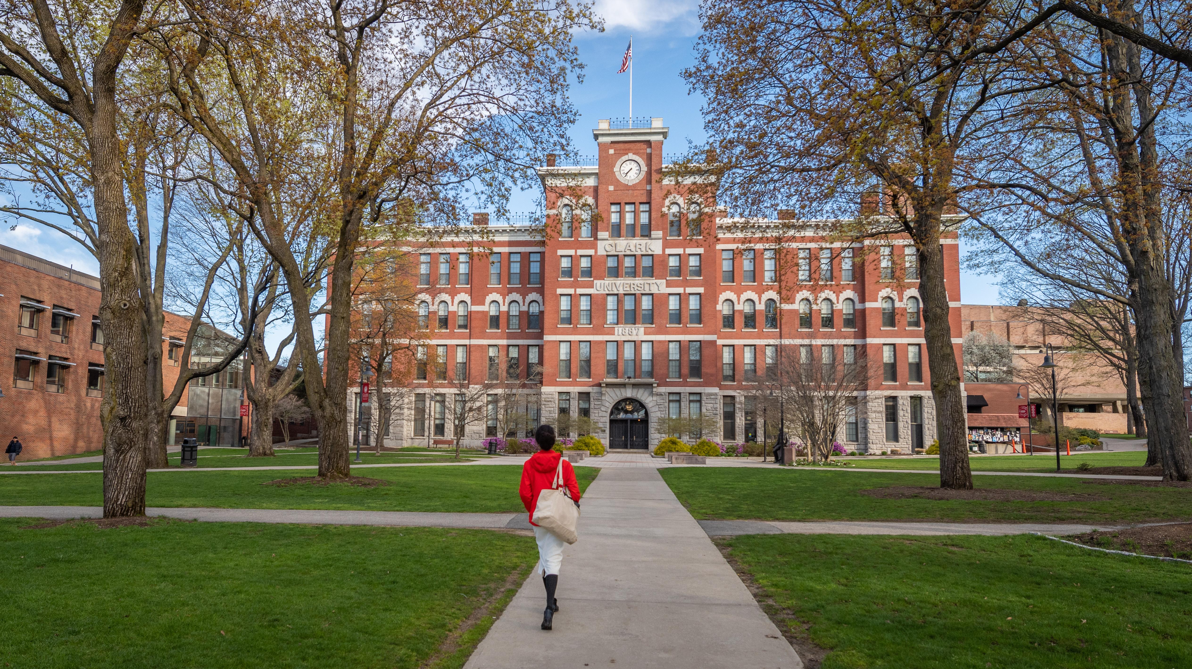Jonas Clark Hall at Clark University